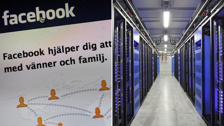 Facebooks serverhall i Luleå.