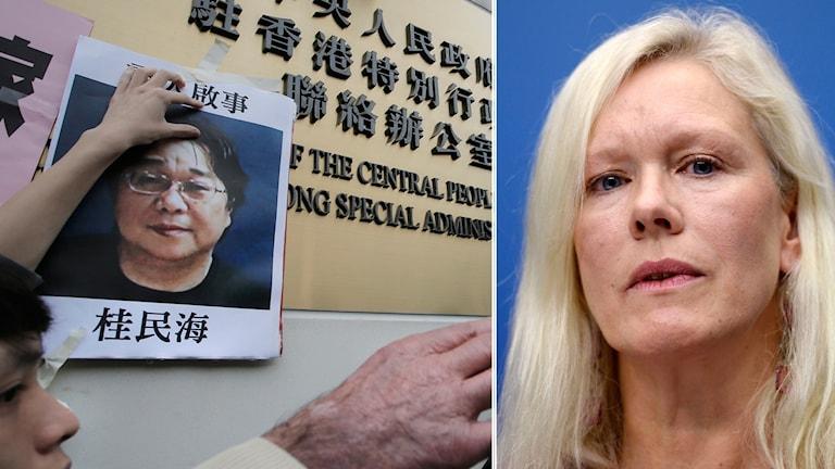 Sveriges tidigare Kina-ambassadör Anna Lindstedt tog initiativ till och deltog i hemliga förhandlingar om Gui Minhai.