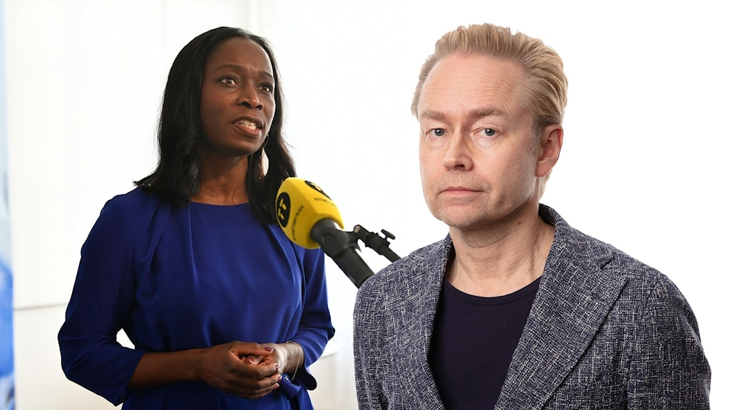 Nyamko Sabuni och Fredrik Furtenbach.