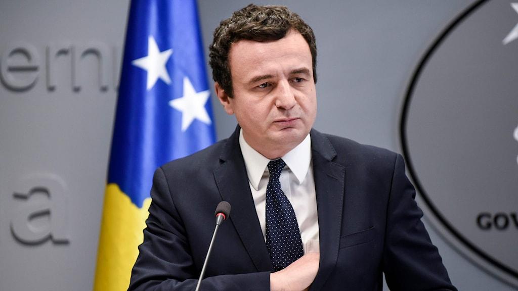 Kosovos premiärminister Albin Kurti