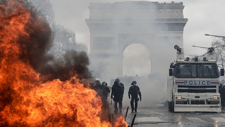 Upplopp i Paris