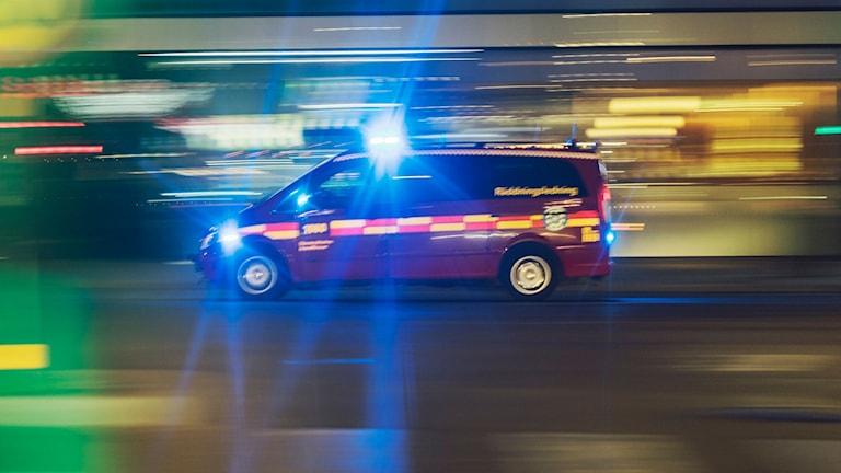 Genrebild på räddningstjänst