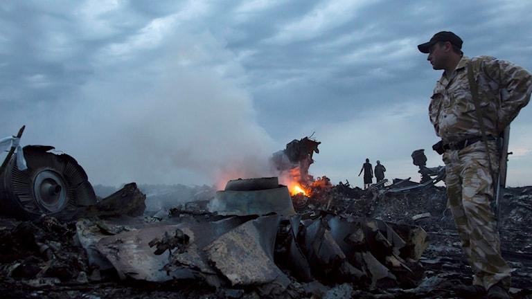 Ukraina krävde att Ryssland skulle ställas till svars för nedskjutningen av passagerarplanet MH17.