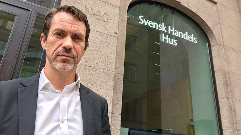 Per Geijer, säkerhetschef svensk handel