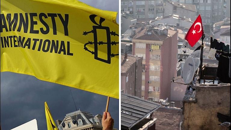 Amnestyflagga Turkietflagga