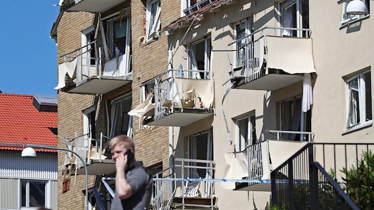 skadade balkonger