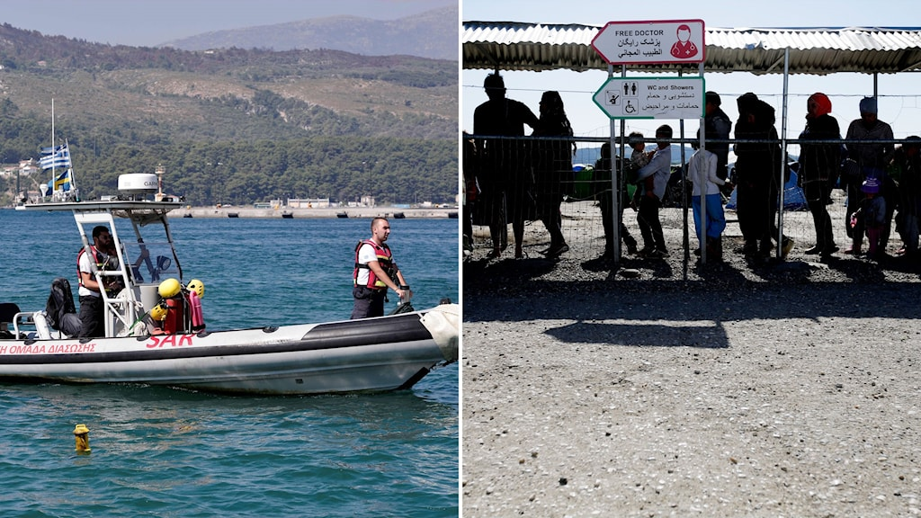 Migranter i Grekland