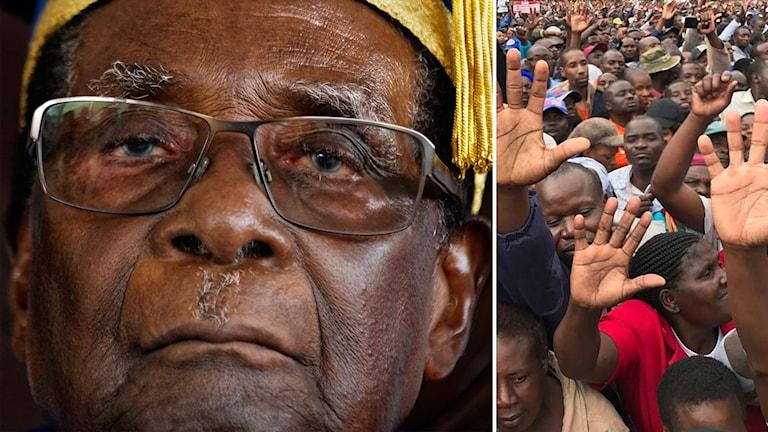 Robert Mugabe redo att avgå.