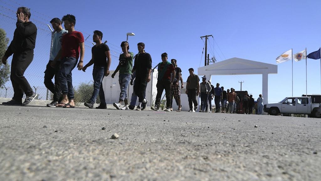 Migranter på norra Cypern