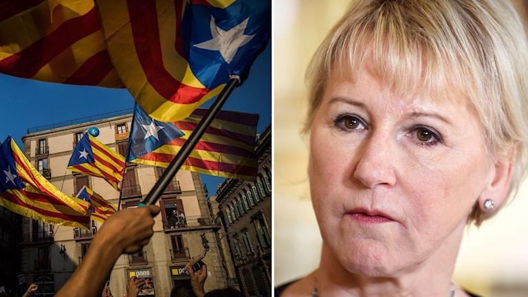 Margot Wallström om krisen i Katalonien.