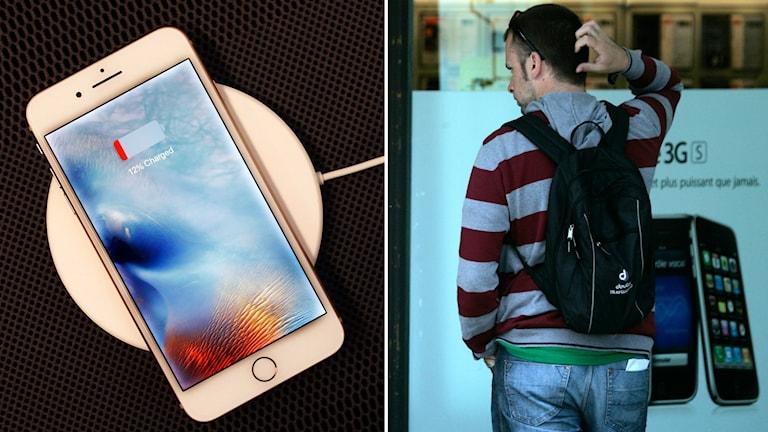 Brister i mobiltelefonerna