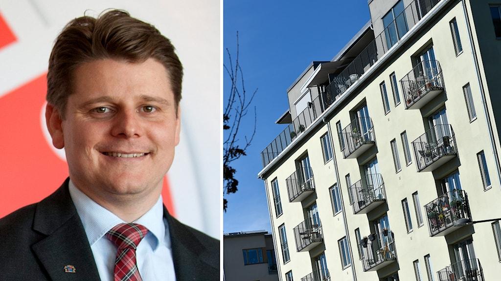 Niklas Karlsson (S) tycker inte att regeringen gör nog för stimulera bostadsbygget.