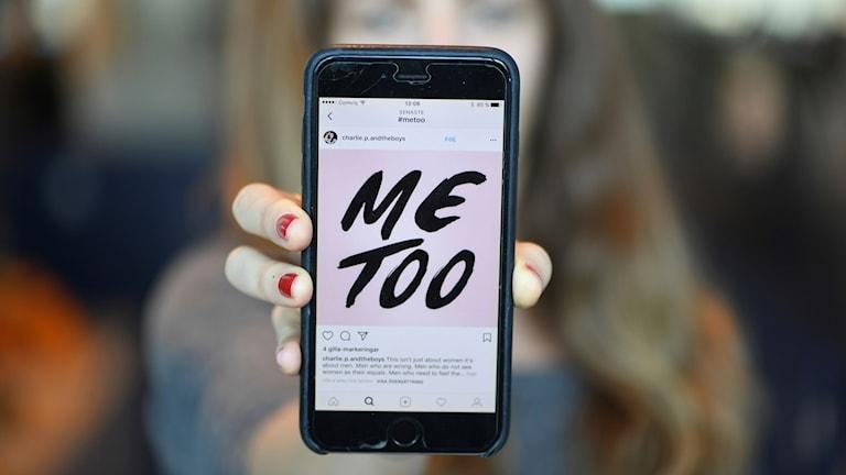 metoo på mobil