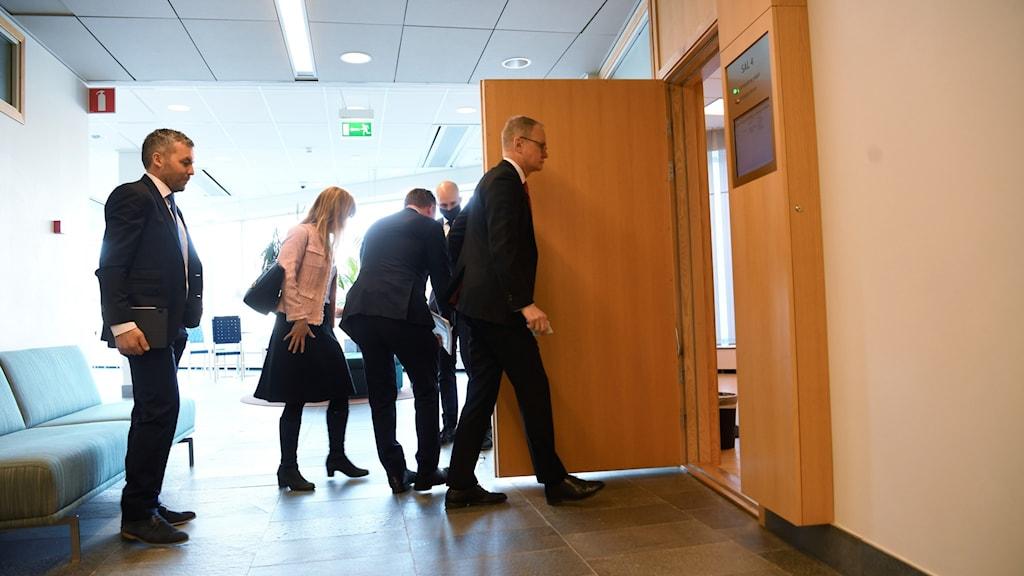 Domstolsförhandlingen mellan Huawei och Post- och telestyrelsen inleddes på onsdagen.