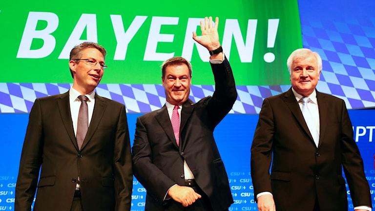 Företrädare för kristdemokratiska CSU i Bayern.