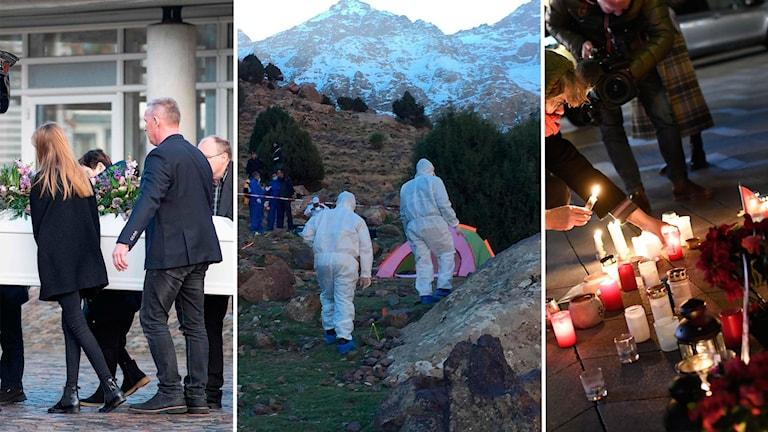 Mördad danska hedrades av statsministern