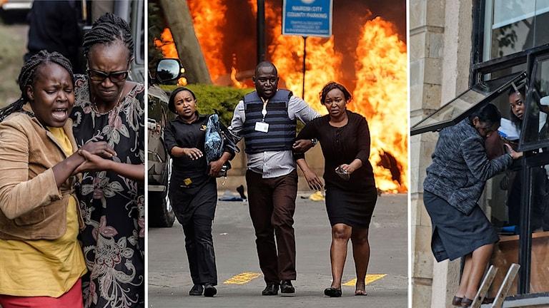 Minst 15 döda i terrorattacken