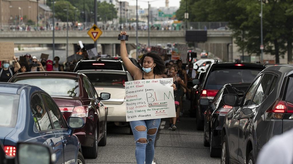 demonstrant i washington
