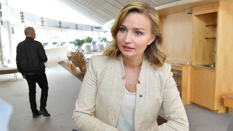 Porträtt på Ebba Busch Thor