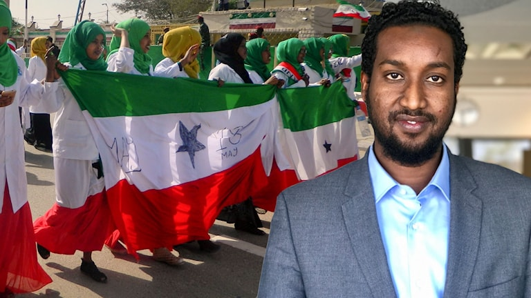 Mohamed Awad, minister för investering i Somaliland