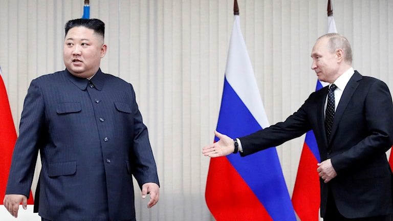 Putin, Kim
