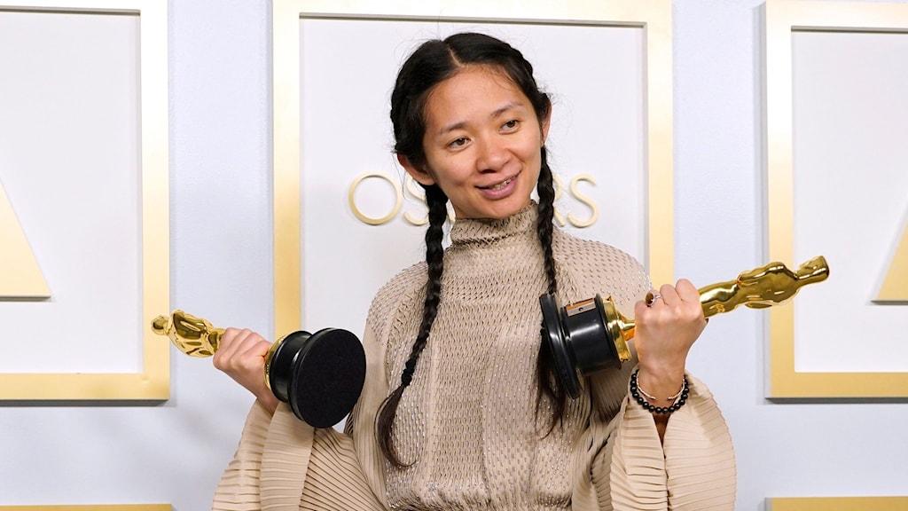 Oscarsvinnaren Chloé Zhao.