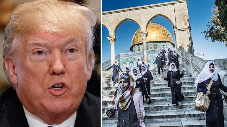 Donald Trump och Jerusalem.