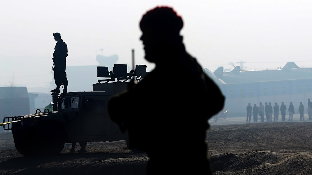 Säkerhetsstyrkor i Afghanistan.