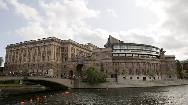 Sveriges riksdag i Stockholm