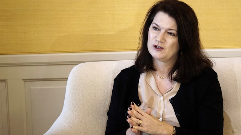 Sveriges EU-minister Ann Linde. Foto: David Keyton/TT.
