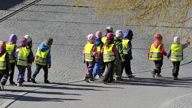 Barn i förskola (arkivbild). Foto: Hasse Holmberg / TT.
