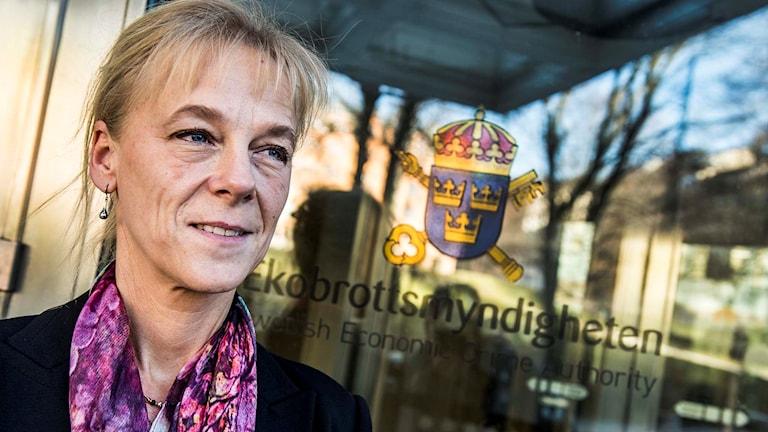 Gunilla Sandblom, chefsåklagare på Ekobrottsmyndigheten.