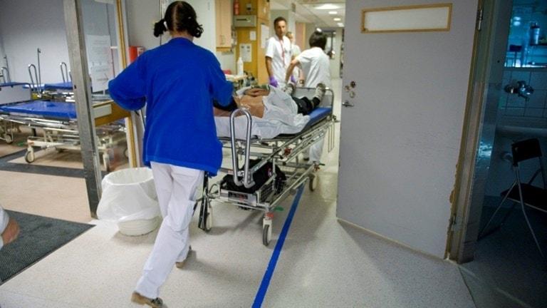 Komplicerade situationer uppstår på sjukhus  (arkivbild). Foto: Bertil Ericsson/TT.