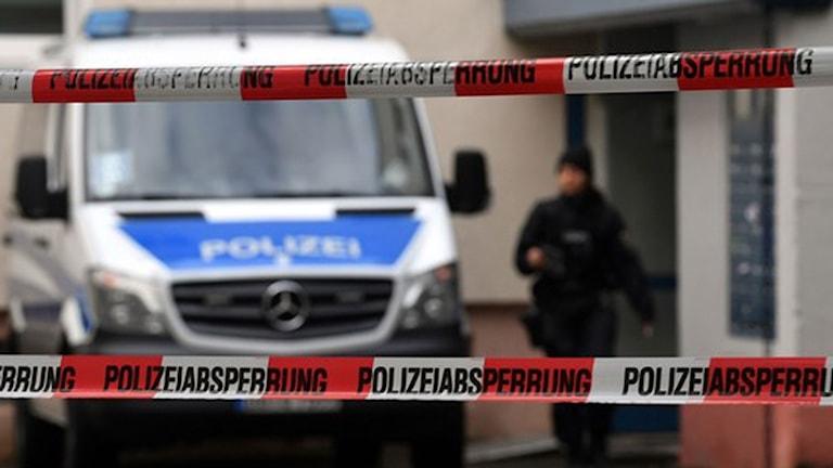 Den man som misstänks ha planerat ett terrorattentant kunde gripas i Chemnitz i lördags. Foto: Henrik Schmidt/Germany OUT/TT