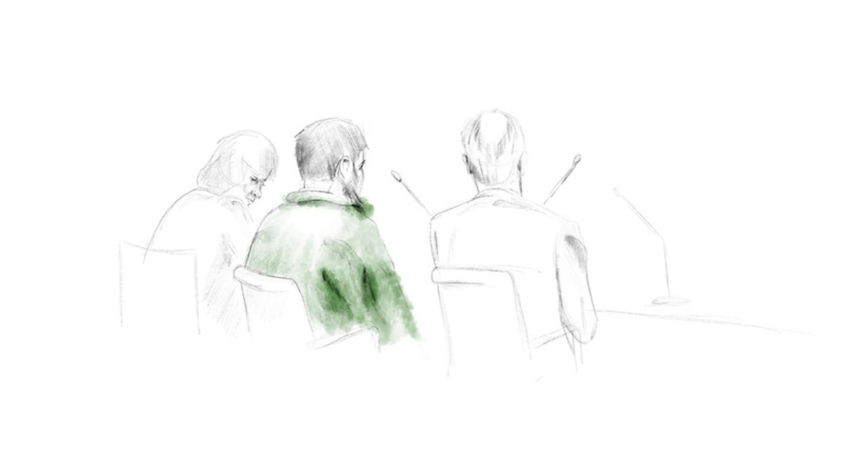 Teckning som illustrerar Rakhmat Akilov.