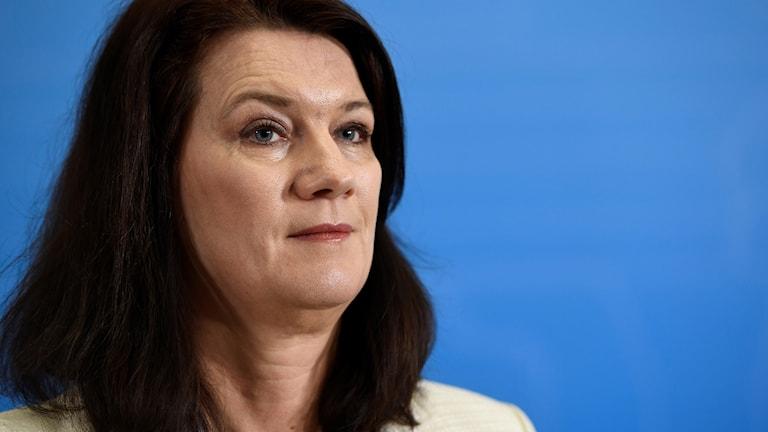 ansiktsbild av Ann Linde, EU-minister, socialdemokrat
