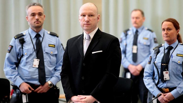 Terrordömde Anders Behring Breivik.