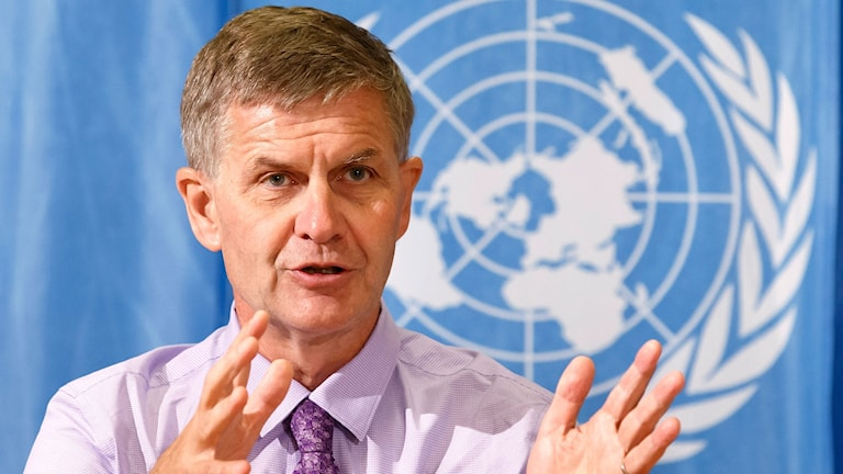 Chefen för FN:s miljöprogram, Erik Solheim