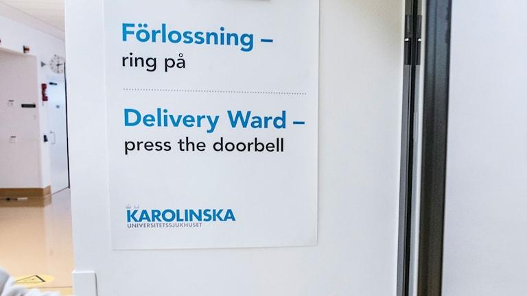 Förlossning Karolinska