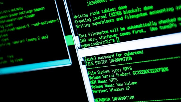 Datainformation, it-säkerhet