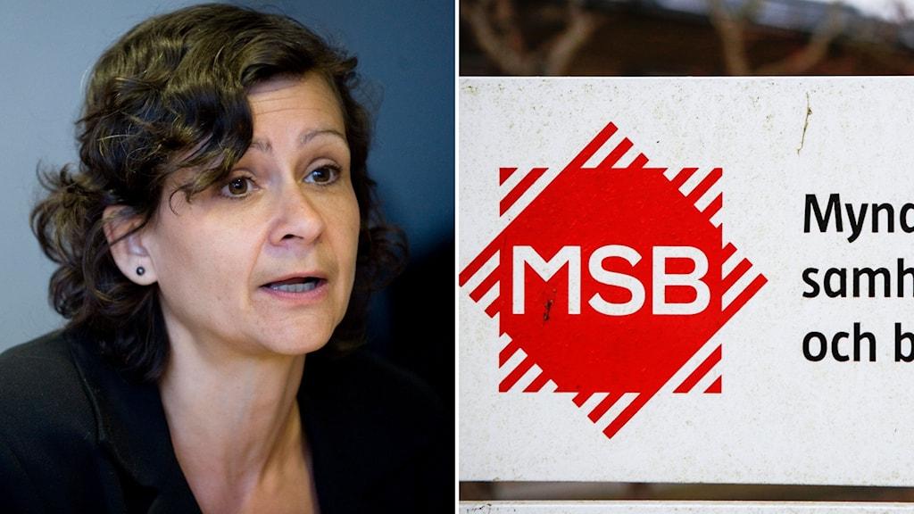 Annelie Bergholm Söder, chef för MSB:s operativa avdelning.