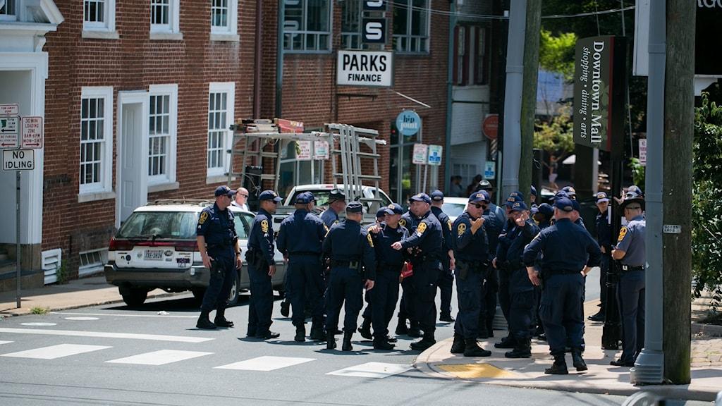 Polis i Charlottesville förbereder sig inför årsdagen för våldsamheterna.