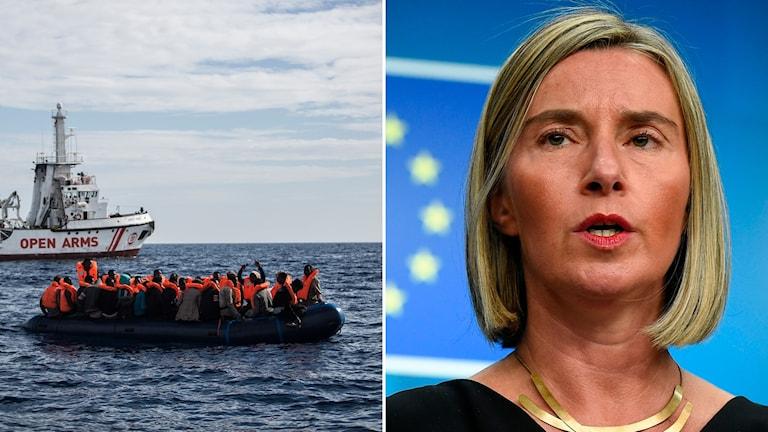 Medelhavet Federica Mogherini