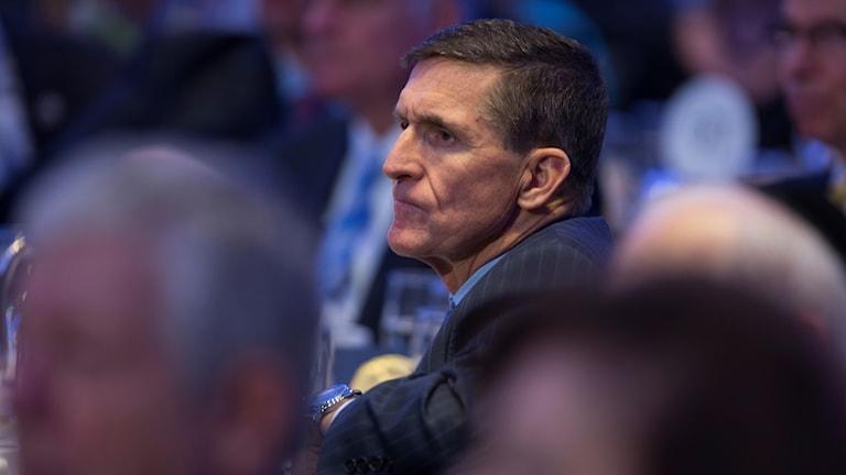 USA:s förre nationella säkerhetsrådgivare, Michael Flynn.