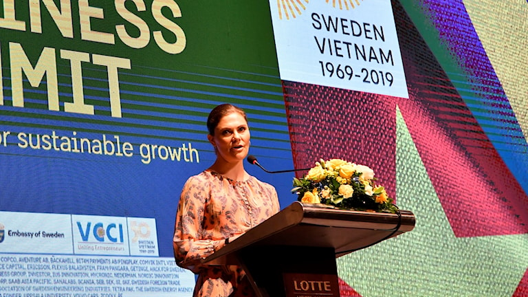 Kronprinsessan i Vietnam