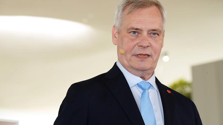 Antti Rinne från Socialdemokraterna i Finland.