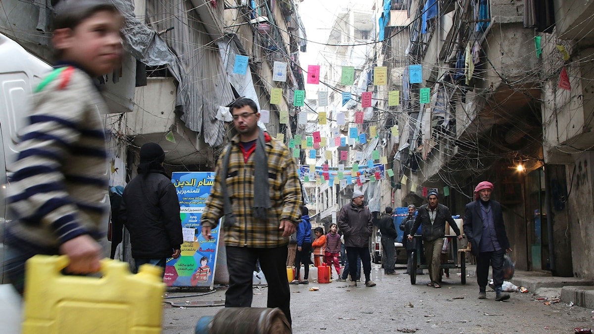 Civila i Aleppo