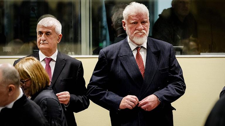 Bruno Stojic och Slobodan Praljak