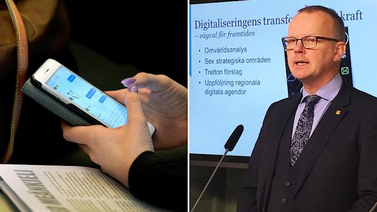 Jan Gulliksen är digitaliseringskommissionens ordförande.