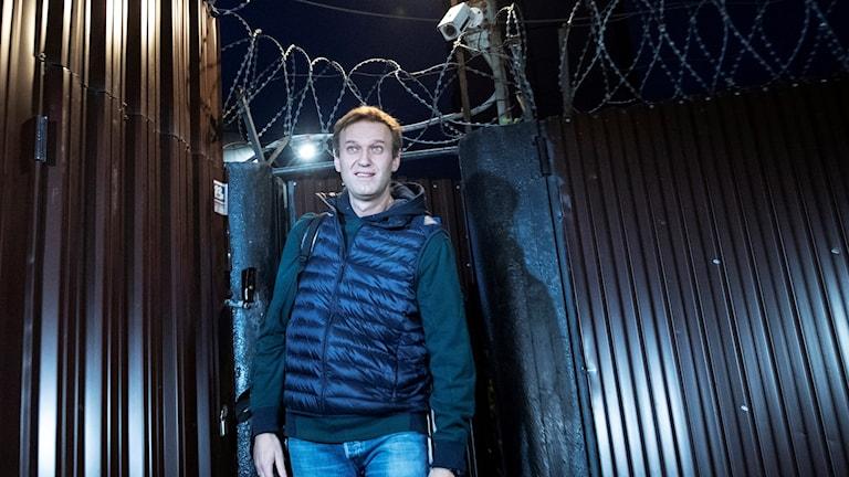 Navalnyj har släppts ur fängelset
